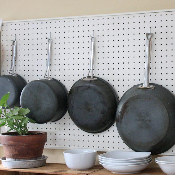 pegboard kitchen storage organizing your kitchen