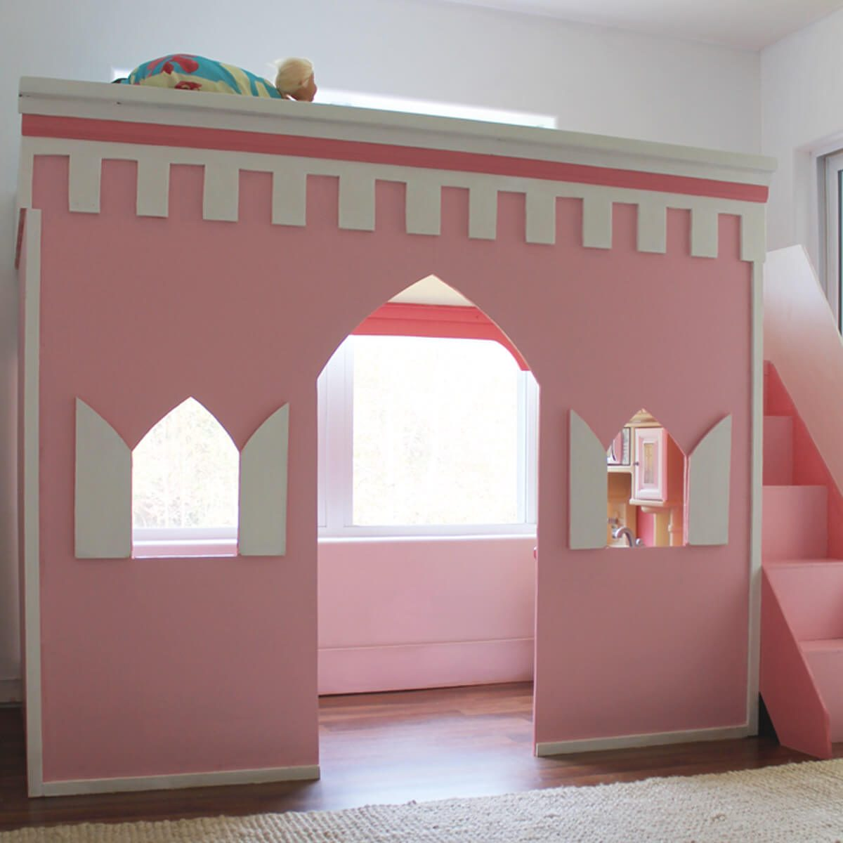 princess-castle-loft-bed-title1