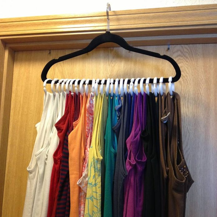 showerrings clothes storage