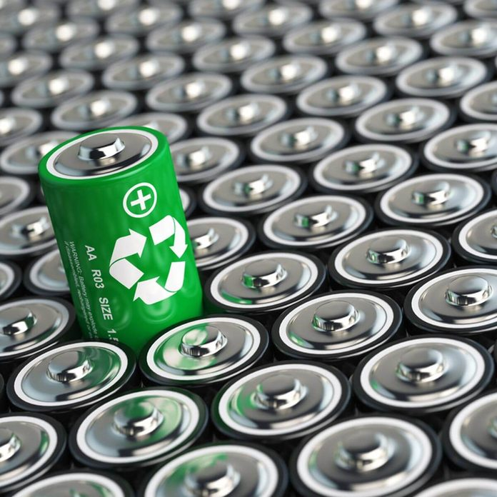 shutterstock_420977155 rechargeable recyclable batteries