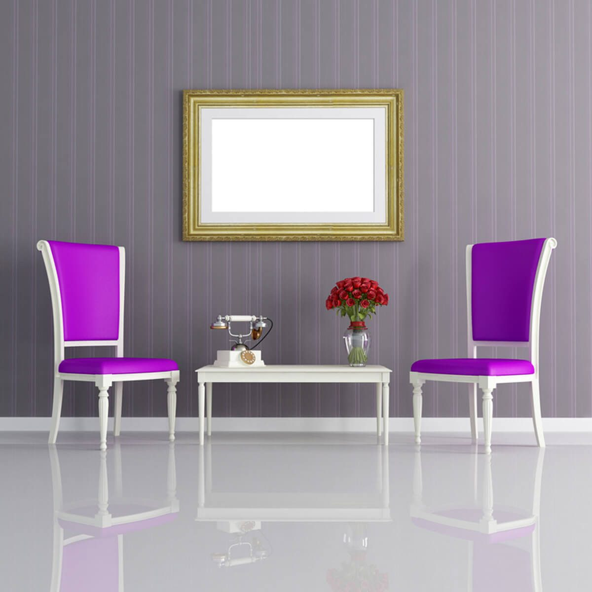 shutterstock_60149110 purple chairs