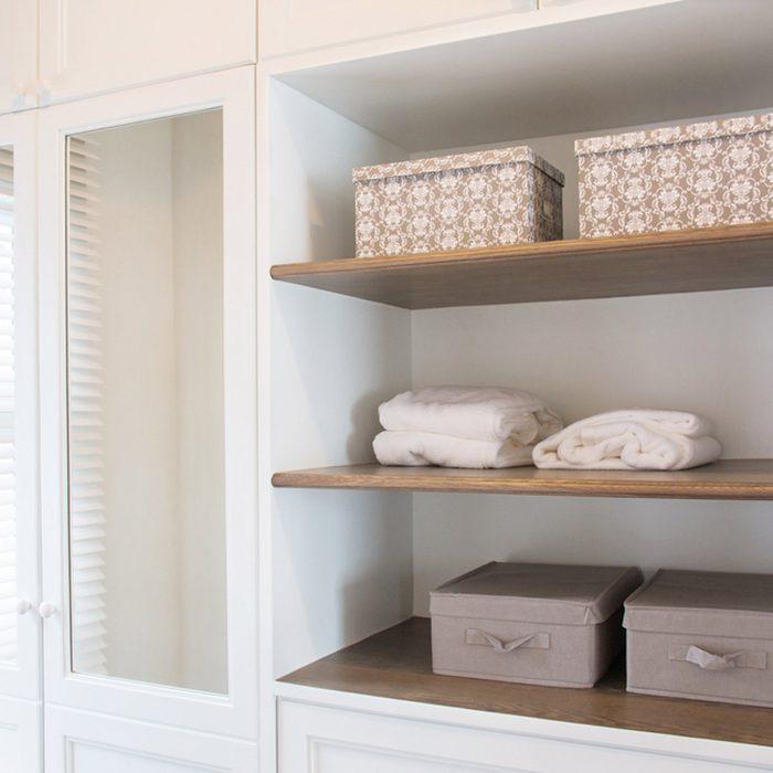 shutterstock_644698957 closet shelves basket box storage