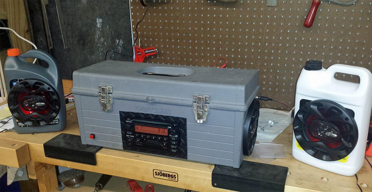 toolbox radio
