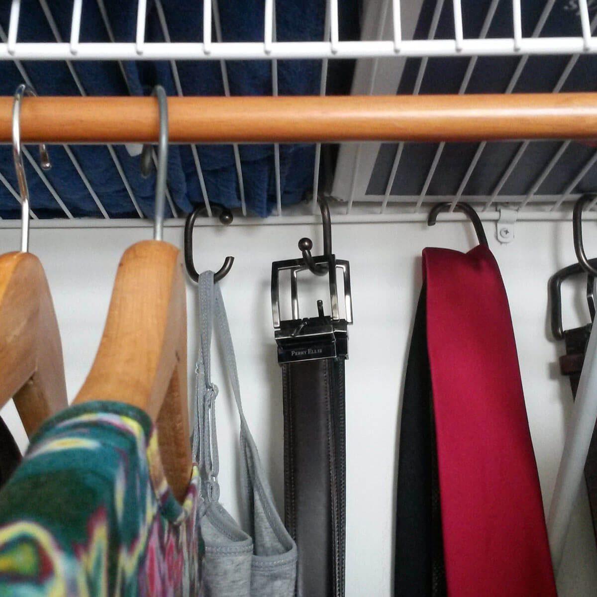wireshelf closet organization