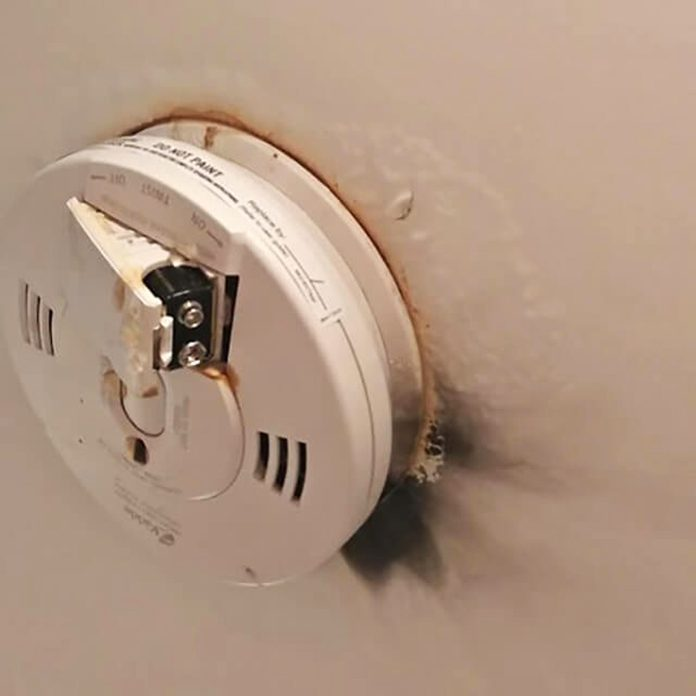 01- smoke Detector_of-the-Craziest-Things-Ever-Found-in-Home-Inspections_courtesy-jeff-miller-AE-Home-Group home inspections