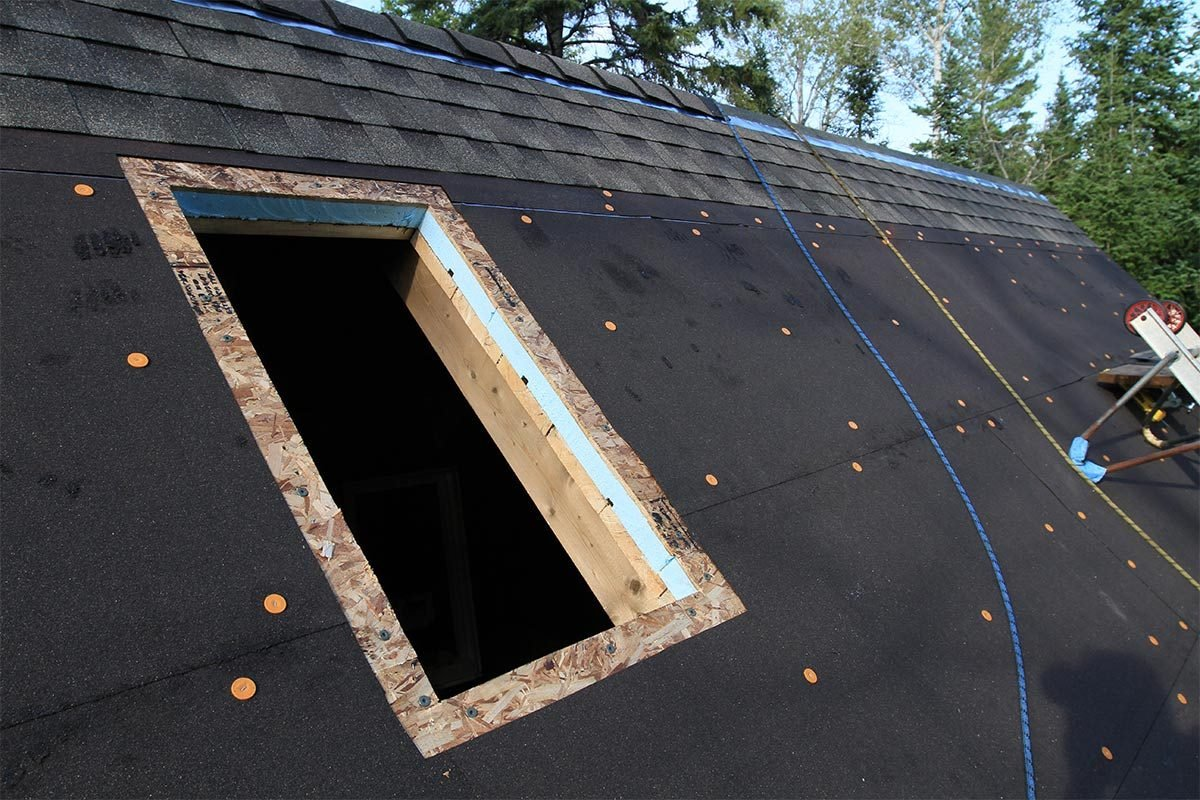 opening for tiny house skylight