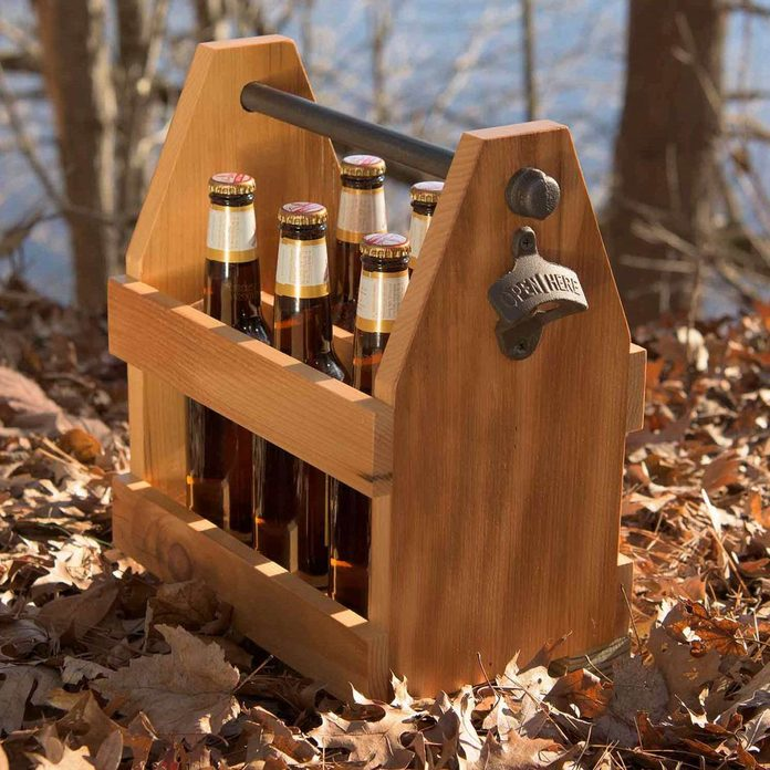 46-hm diy beer caddy wooden beer caddy