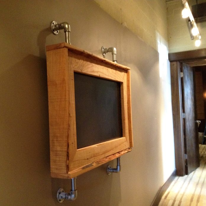 framed television tv