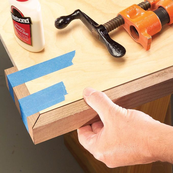 miter joints
