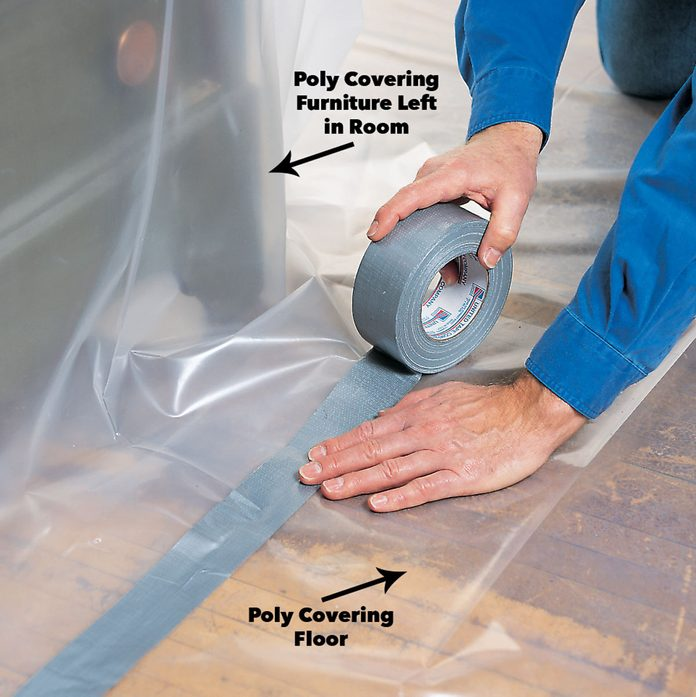 cover furniture lead paint removal