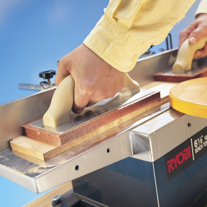 jointer hold down tip