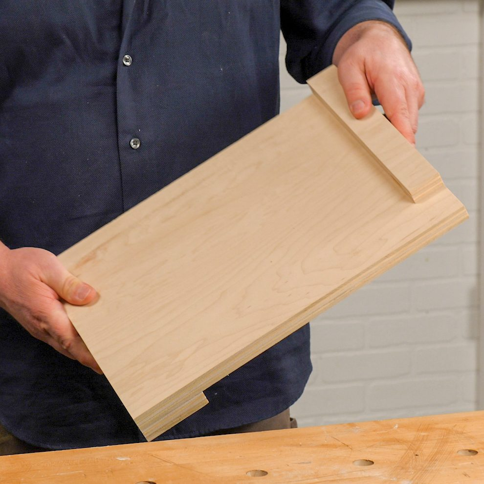 Handy Hints Simple bench hook