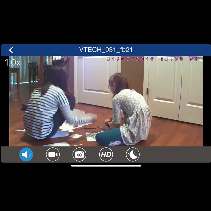 VTech smartphone app