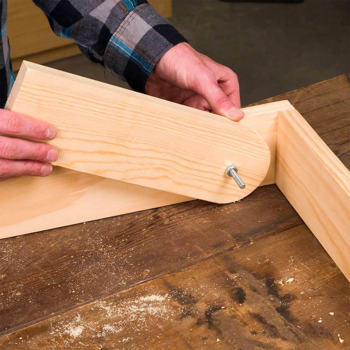 adding cornhole board legs