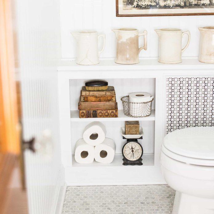 radiator cover bathroom storage