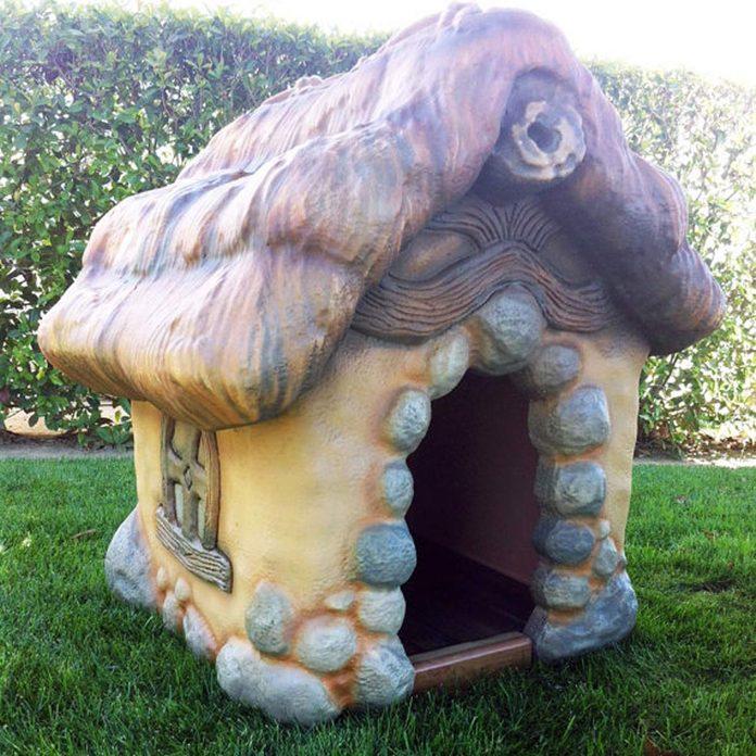 storybook style dog house