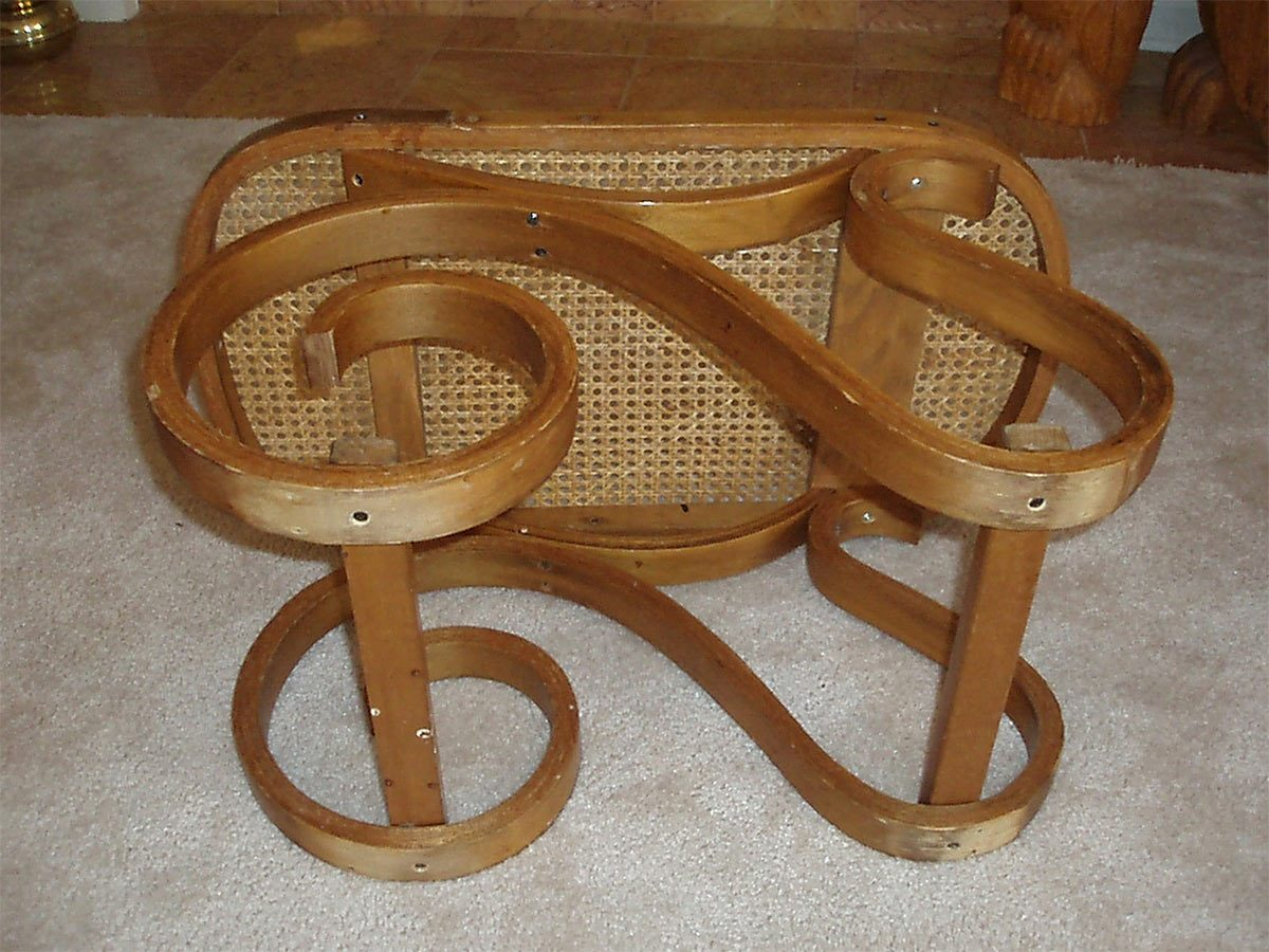 rocker end table
