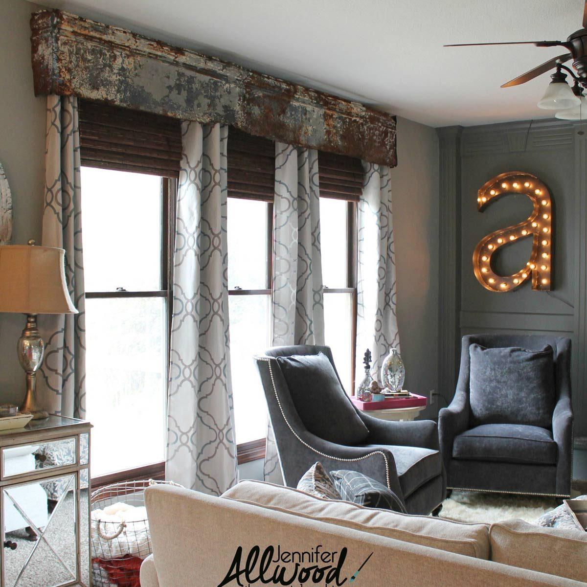 Metal Window Topper Home decor