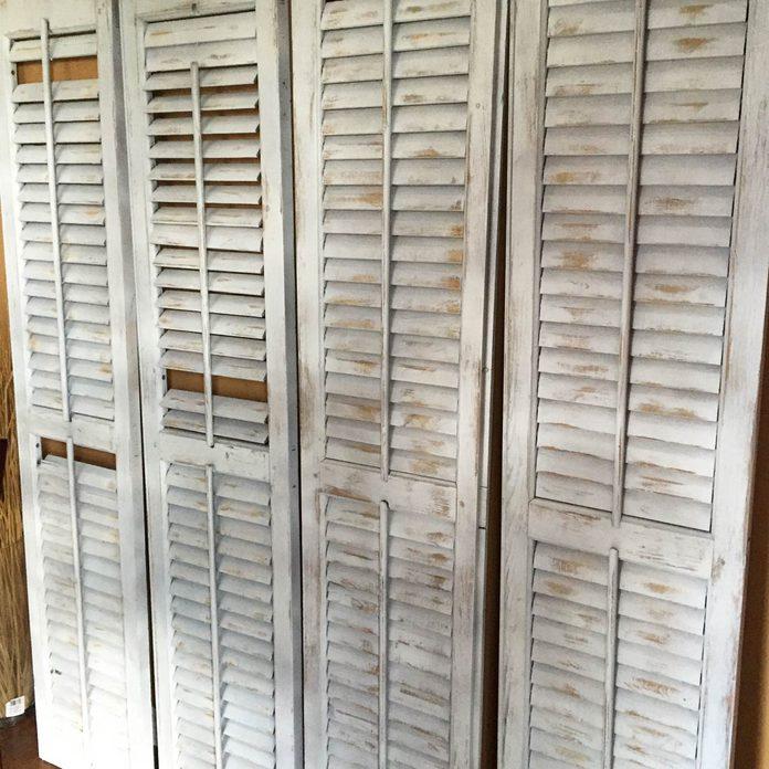 shutters room divider