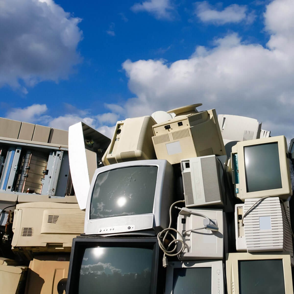 electronic waste for recycling or safe disposal