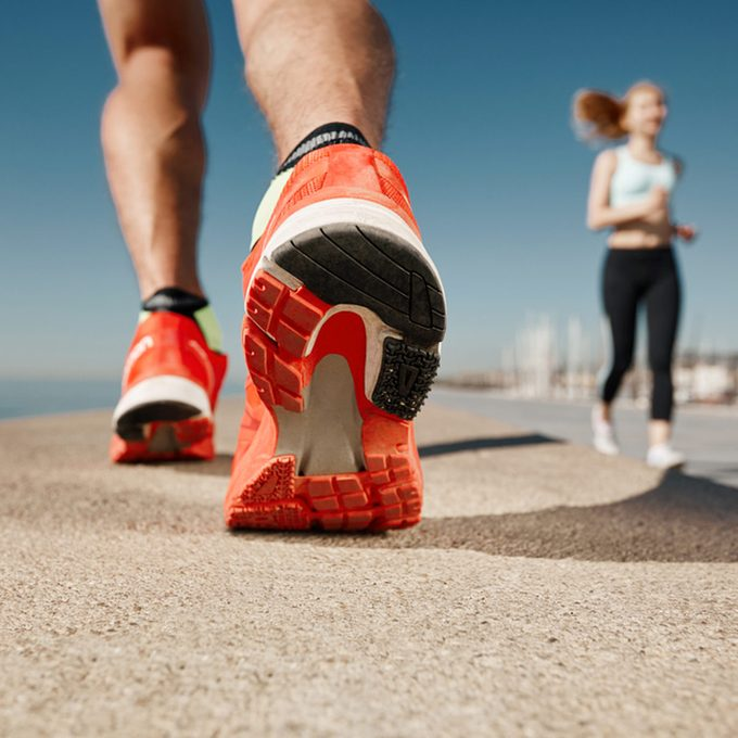 running shoes tennis shoes exercise