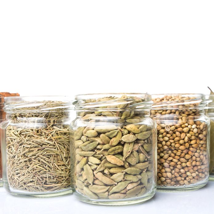 mason jars for spices