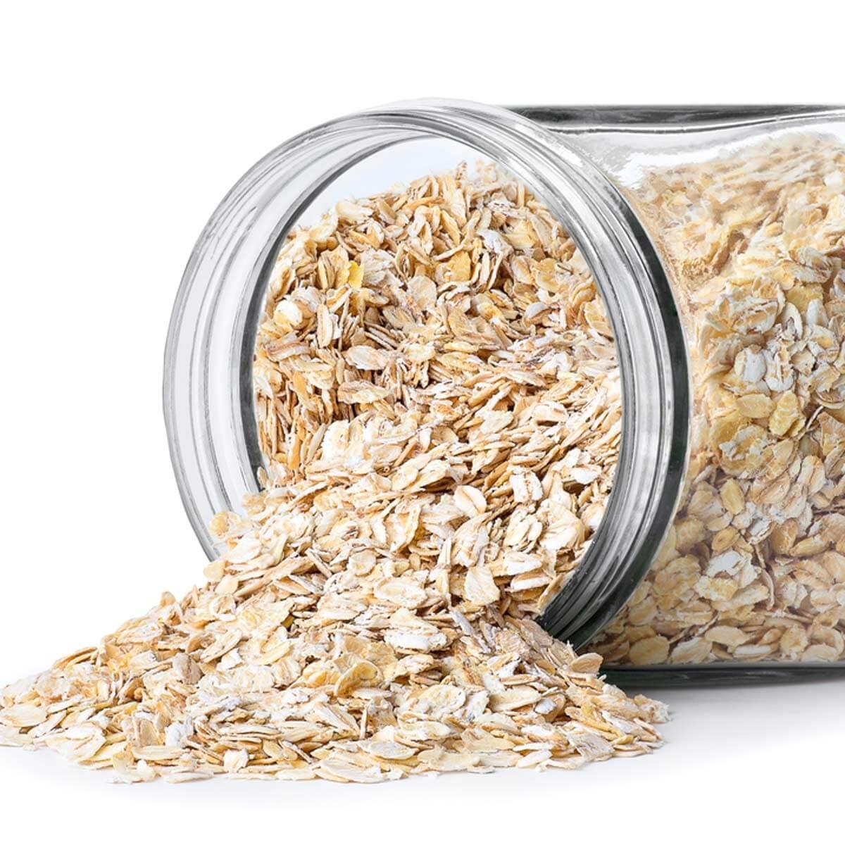 dry oatmeal