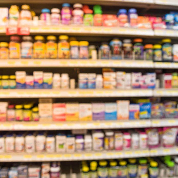 vitamins blurry