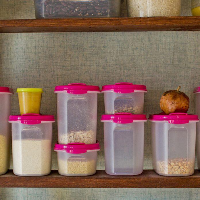 shutterstock_574543546 tupperware container storage