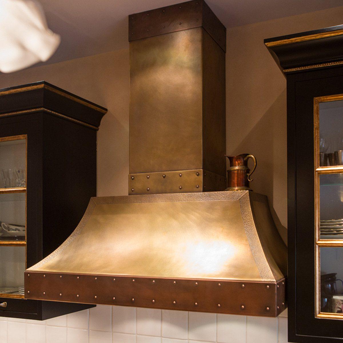 metal kitchen vent hood