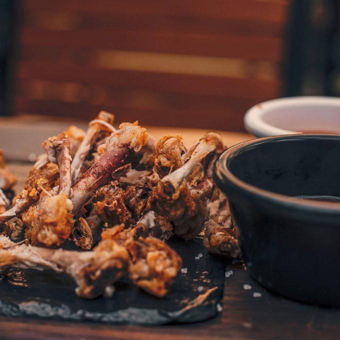 chicken wing bones