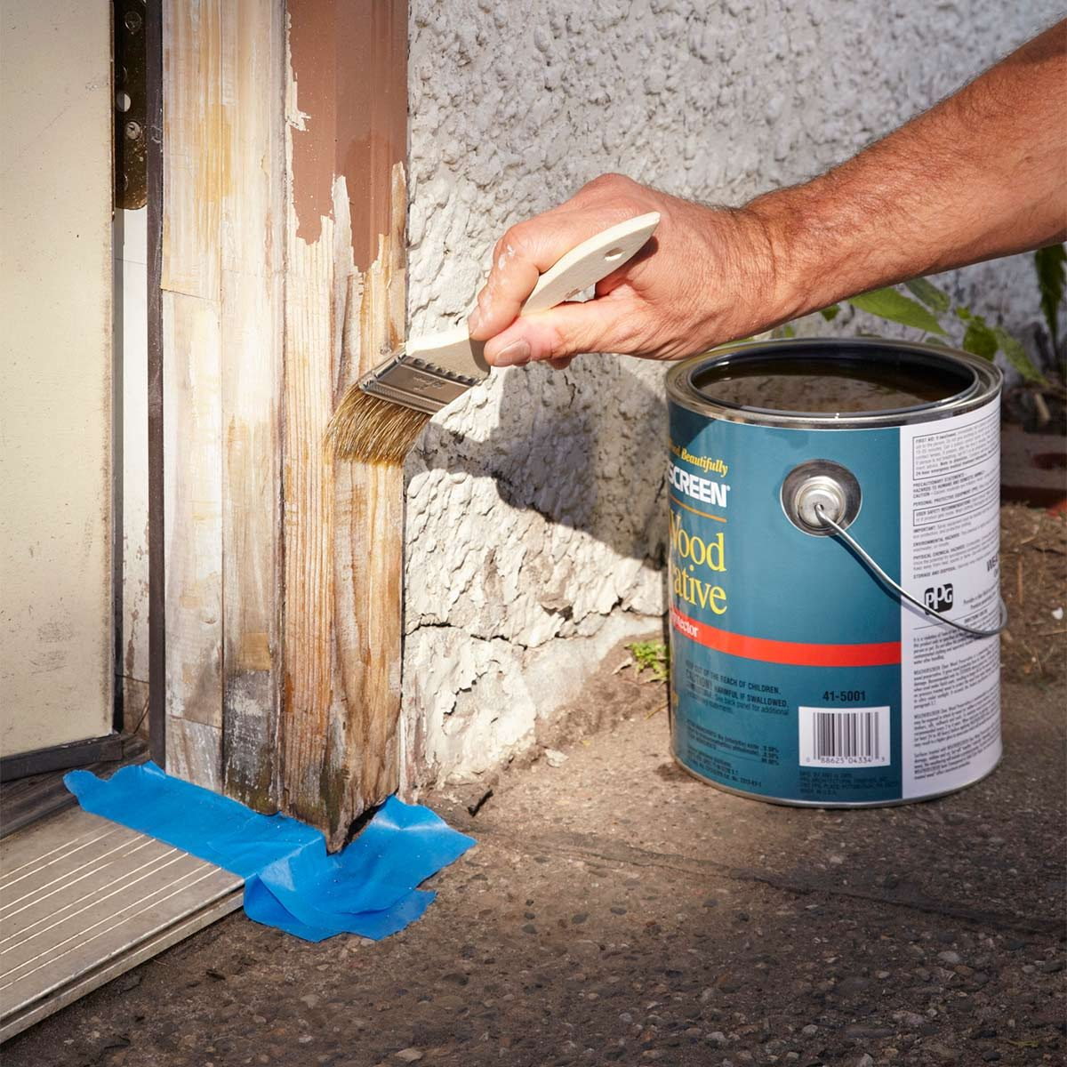 waterproofer for exterior wood