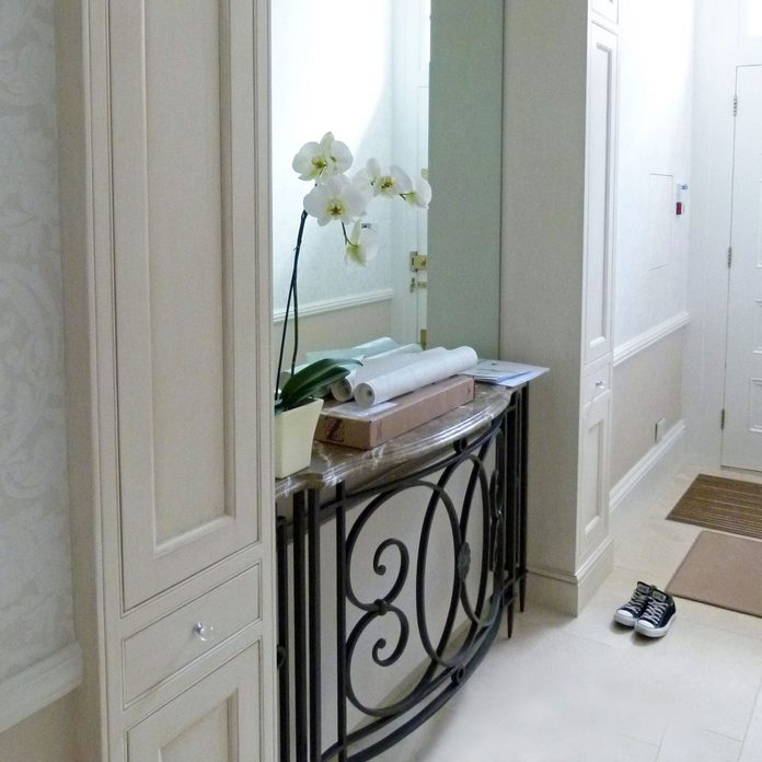 radiator cover front entryway