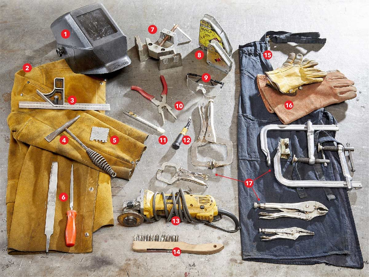 welding tools and gear