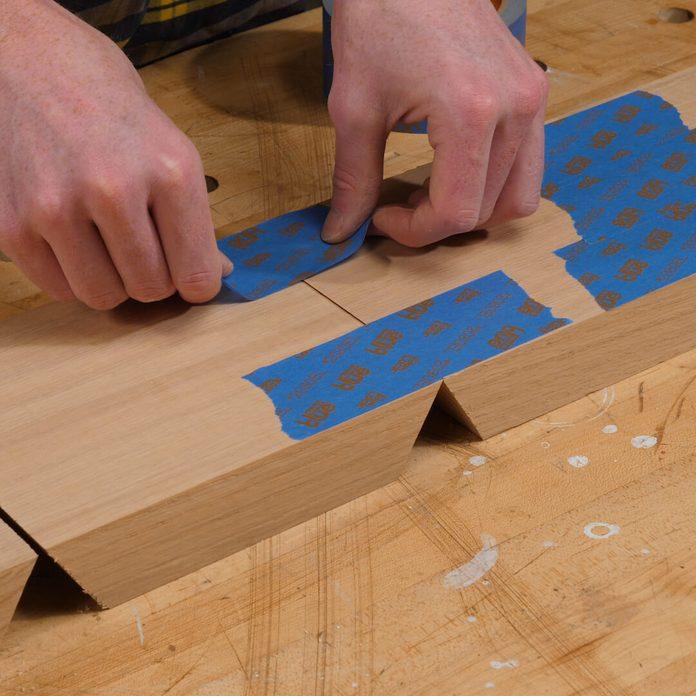 Hexagon Shelves Tape Together
