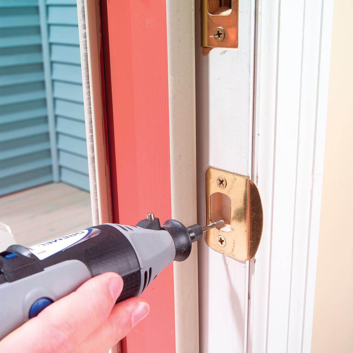 fix door that doesn't latch