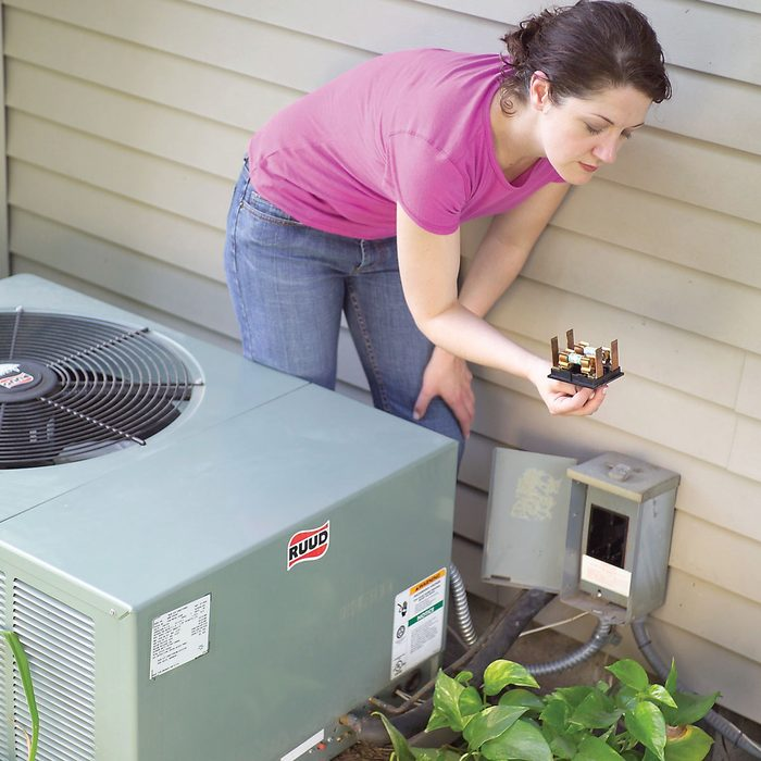 change air conditioner thermostat