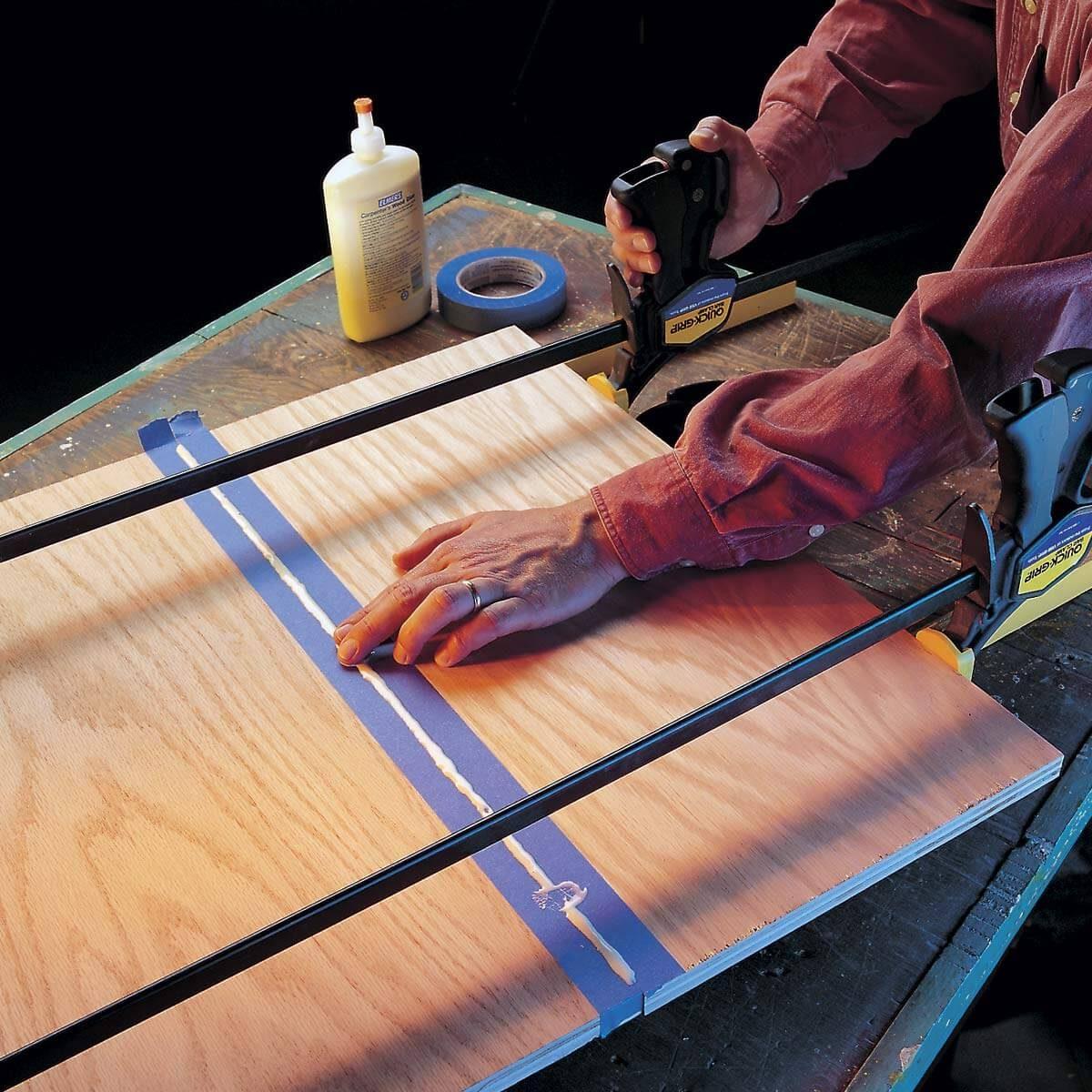 stainless edge gluing workshop tip