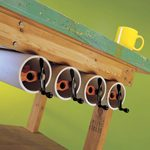 Pipe Clamp Quivers