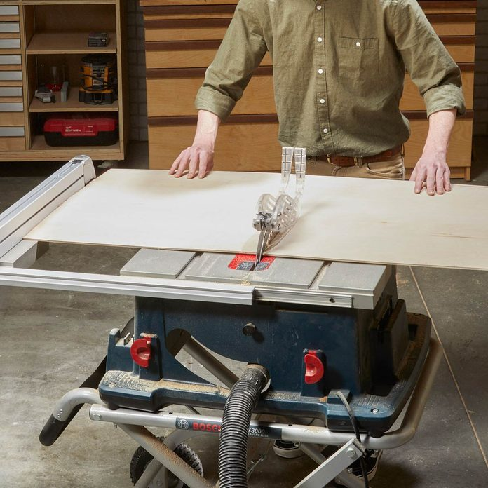 Floating Shelf Secret Drawer Rip Plywood