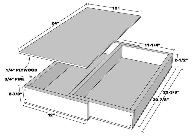 Floating Shelf Secret Drawer Tech Art