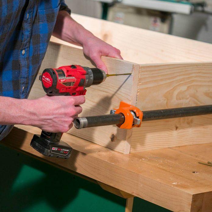 Fold Up Workbench Build Box Frame