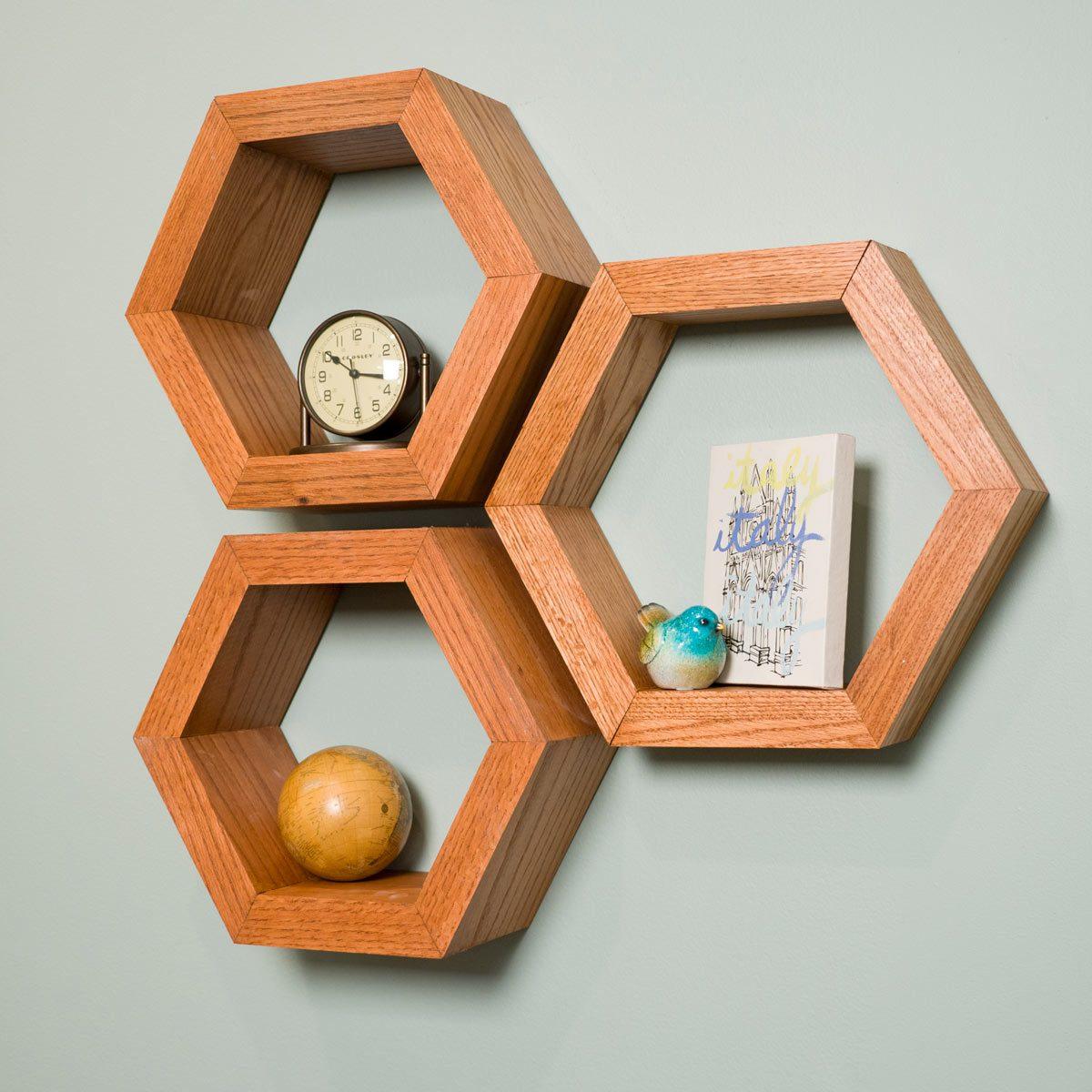 Hexagon Shelves Photo