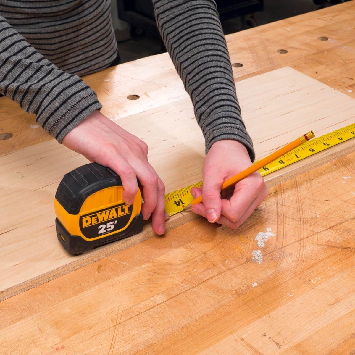 HH Measure plywood base