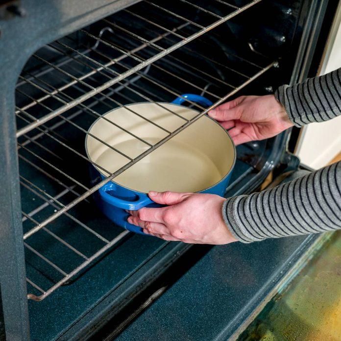 HH Steam clean oven