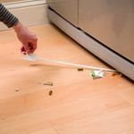How to Clean Under Your Fridge