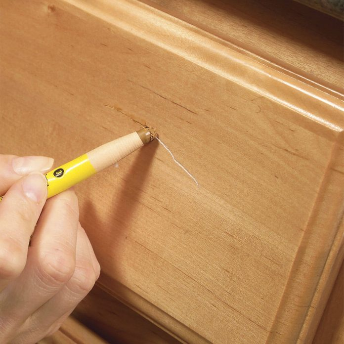 Fix Scratched Cabinetry