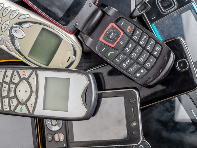 what do you do with old cell phones