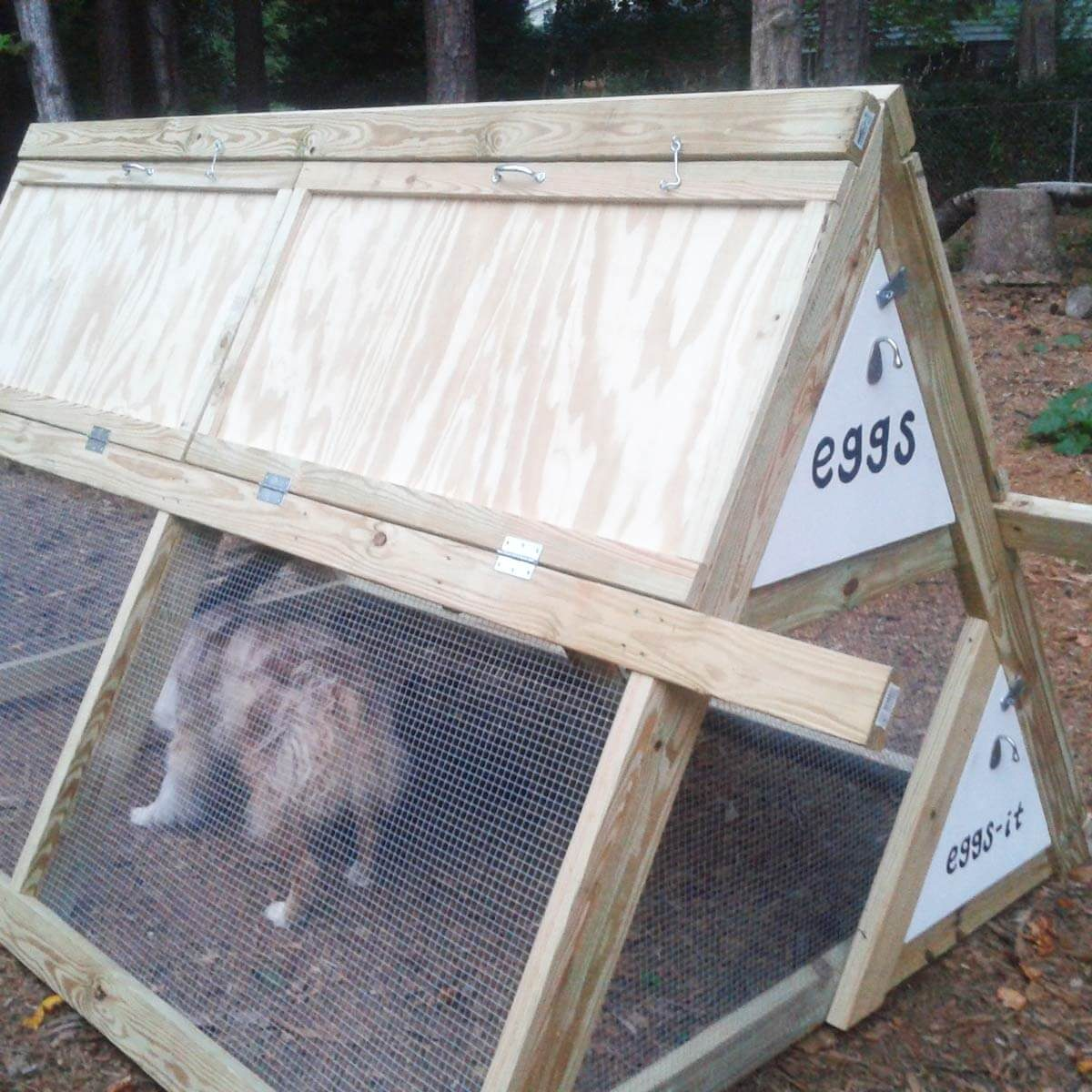aframe chicken coop