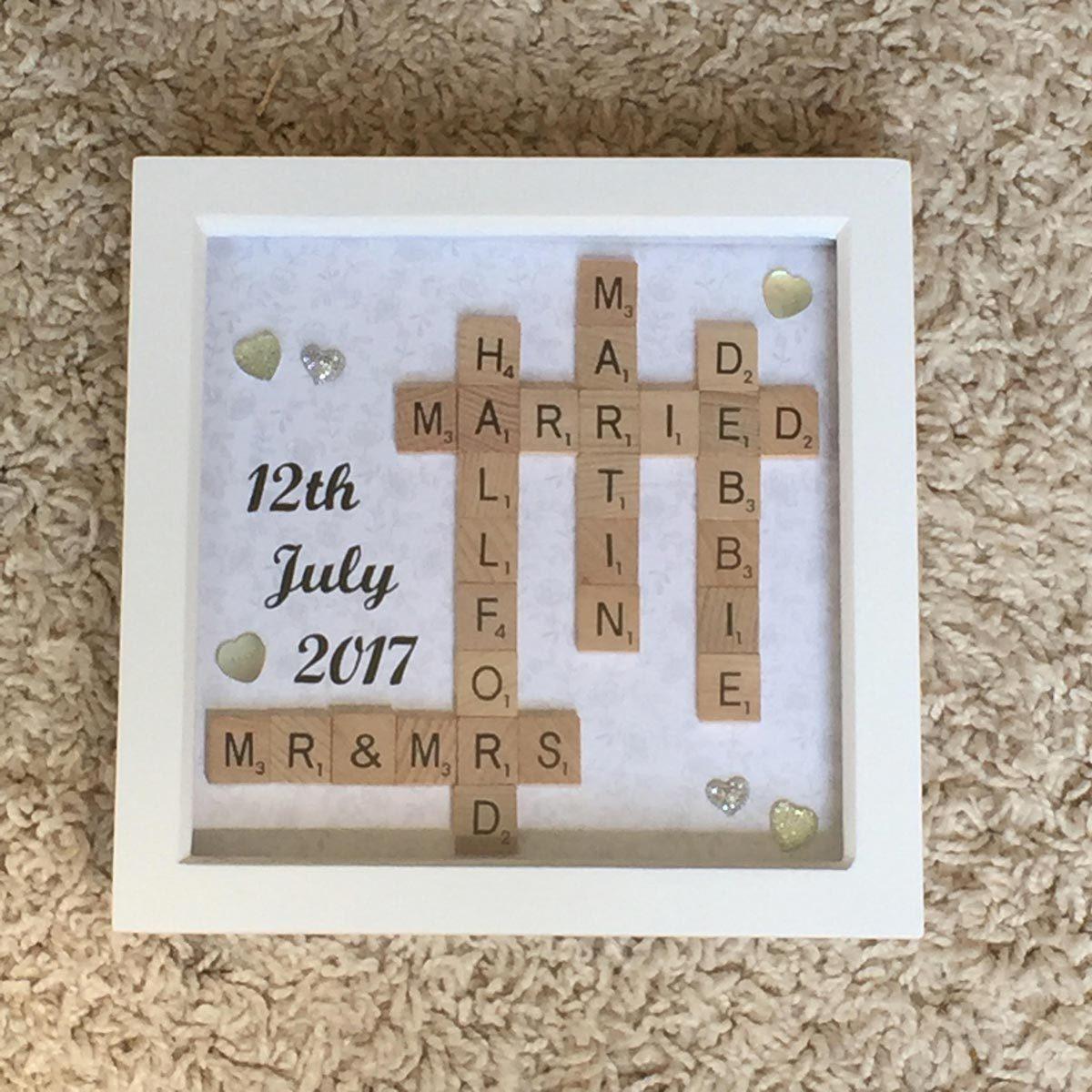 Scrabble Anniversary Art